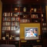 Mueble teñido en wengue