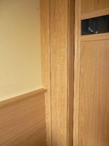 Cabecero integrado con armario