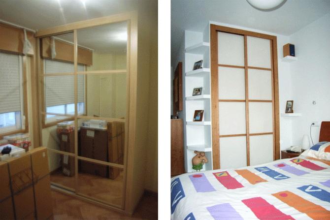 Ejemplos de como compensar el efecto visual de los espacios reducidos añadiendo elementos decorativos