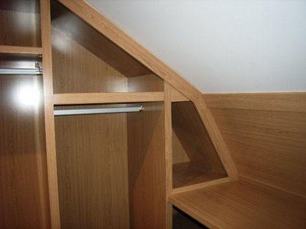 Solución a un techo abuhardillado