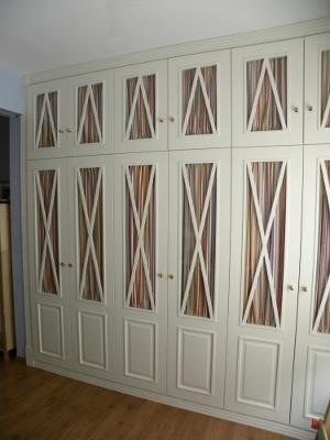 armario lacado 6 puertas